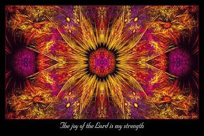 Digital Art - My Strength by Missy Gainer