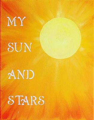 Daenerys Targaryen Painting - My Sun And Stars Game Of Thrones Art by Michelle Eshleman