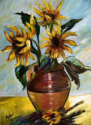 My Sunflowers Art Print