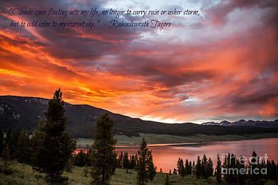 Photograph - My Sunset Sky by Jim McCain