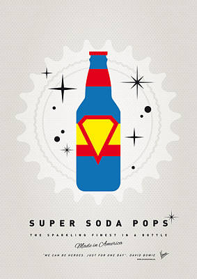 Soda Digital Art - My Super Soda Pops No-05 by Chungkong Art