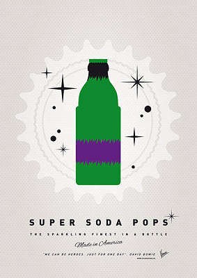 Power Digital Art - My Super Soda Pops No-11 by Chungkong Art