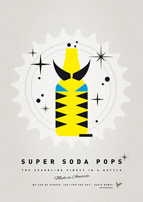 Digital Art - My Super Soda Pops No-13 by Chungkong Art