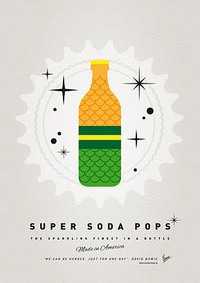 Digital Art - My Super Soda Pops No-19 by Chungkong Art