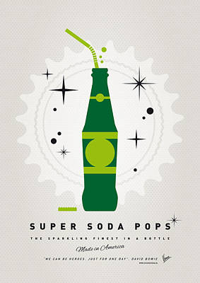 Digital Art - My Super Soda Pops No-20 by Chungkong Art