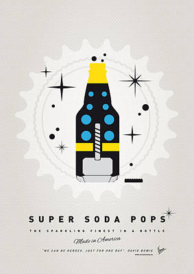 Power Digital Art - My Super Soda Pops No-22 by Chungkong Art