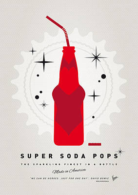 Digital Art - My Super Soda Pops No-23 by Chungkong Art
