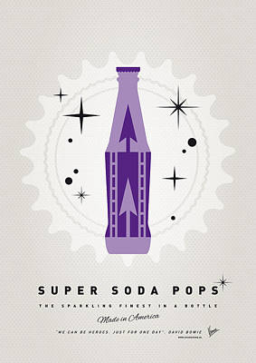 Soda Digital Art - My Super Soda Pops No-25 by Chungkong Art