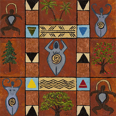 Painting - My Symbolic World by Darice Machel McGuire