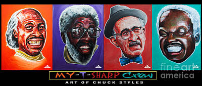 Murphy Painting - My-t-sharp Crew by The Styles Gallery