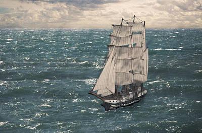 Photograph - My Tall Ship by Brian Grzelewski