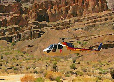 My Taxi To The Grand Canyon And Back Print by John Malone