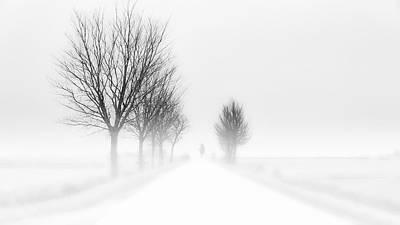 Haze Photograph - My Tiny World by Jacob Tuinenga