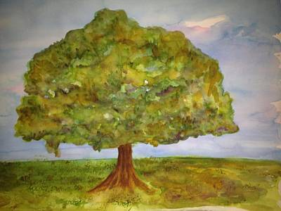 Painting - My Tree by Bobbin