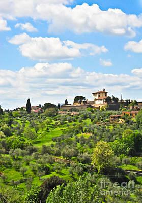 Photograph - My Tuscan Dream by Liesl Marelli
