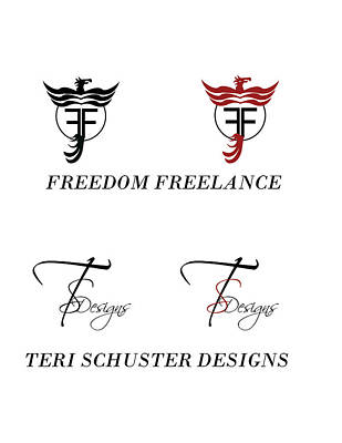 Digital Art - My Two Logos by Teri Schuster