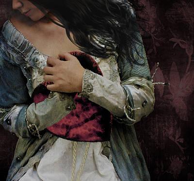 Gale Digital Art - My Valentine by Marie  Gale