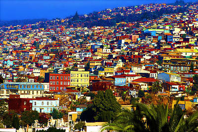 Photograph - My Valparaiso by Kurt Van Wagner