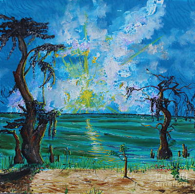 Lake Waccamaw Painting - My Waccamaw by Stefan Duncan