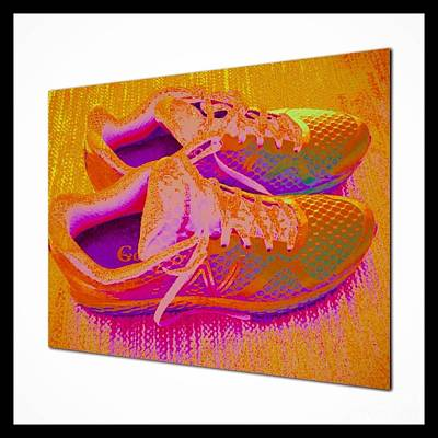 Photograph - My Walking Shoes  by Susan Garren