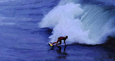 My Wave Art Print by Ron Regalado