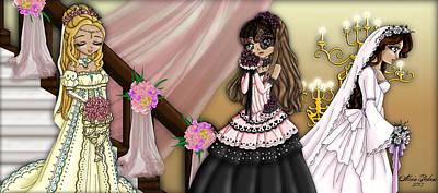 My Wedding Bouquet Art Print by Alicia Matheson