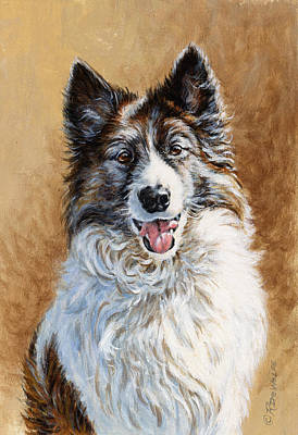 Pets Painting - Mya by Richard De Wolfe