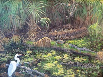 Sandra Williams Painting - Myakka Gathering by Sandra Williams