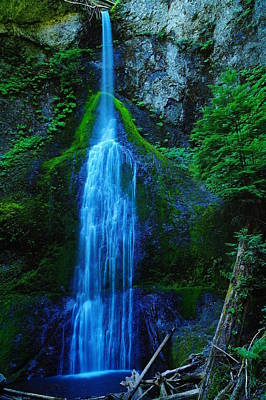 Myamere Falls  Art Print by Jeff Swan