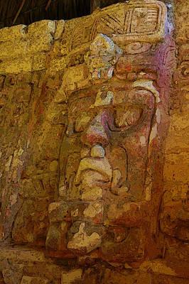 Photograph - Myan Wall Sculpture by Herb Paynter