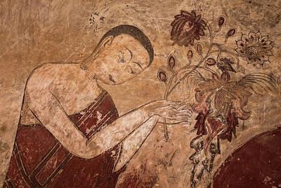 Myanmar, Bagan Ancient Artwork Art Print