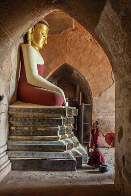 Myanmar, Mandalay, Bagan Art Print