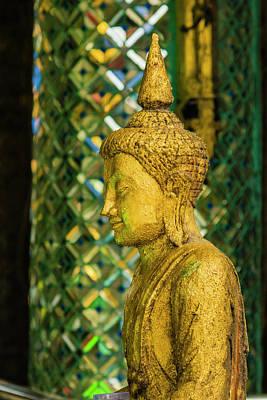 Myanmar Yangon Sule Pagoda Old Buddha Art Print by Inger Hogstrom