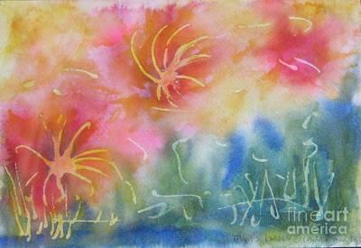 Mya's Garden Art Print
