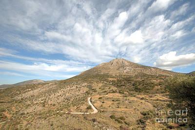 Photograph - Mycenae Cloudscape by Deborah Smolinske
