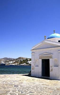 Photograph - Mykonos Blue by Corinne Rhode