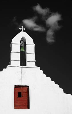 Wall Art - Photograph - Mykonos Church by Jack Daulton