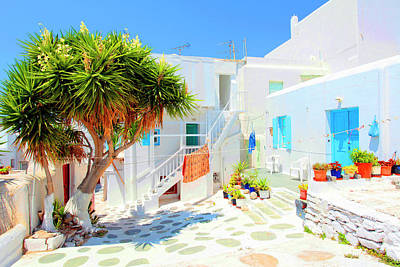 Mykonos Photograph - Mykonos I (from The Series postcards From Greece) by Dieter Matthes