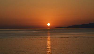 Photograph - Mykonos Sunset by Corinne Rhode