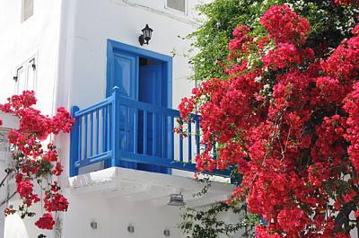 Photograph - Mykonos Town by Kathy Schumann