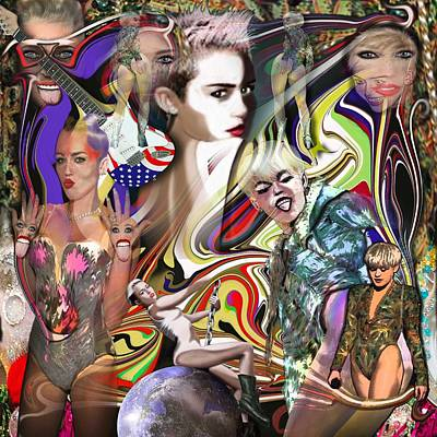 Mylie Cyrus Original by George Flay