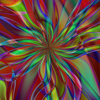 Digital Art - Myriad Mum by Kiki Art