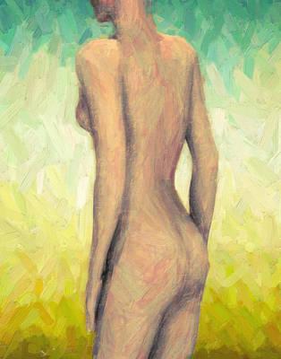 Painting - Myrrha by Taylan Apukovska