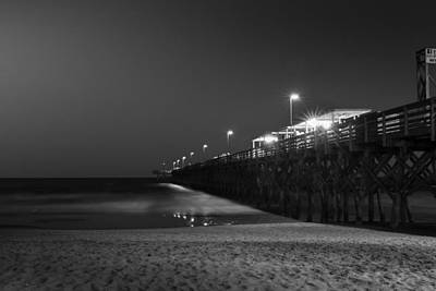 Myrtle Beach 2nd Ave Pier At Night II Art Print