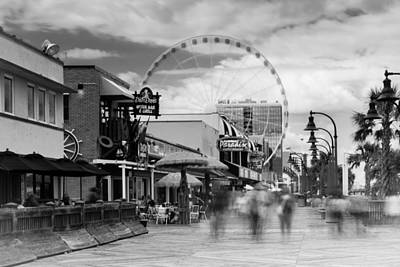 Myrtle Beach Photograph - Myrtle Beach Board Walk by Ivo Kerssemakers