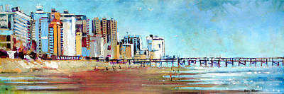 Painting - Myrtle Beach Morning by Dan Nelson