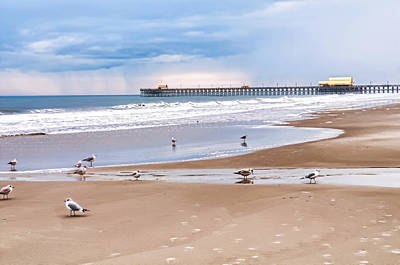 Photograph - Myrtle Beach - Rainy Day by Scott Hansen