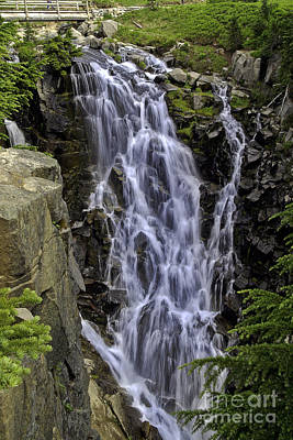 Photograph - Myrtle Falls by Tim Moore