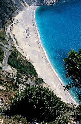 Photograph - Myrtos Beach by George Atsametakis