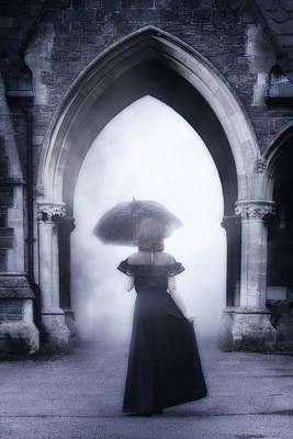 Haze Photograph - Mysterious Archway by Joana Kruse